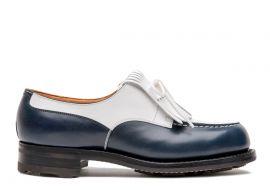 ゴルフ ブルー&ホワイトボックスカーフ