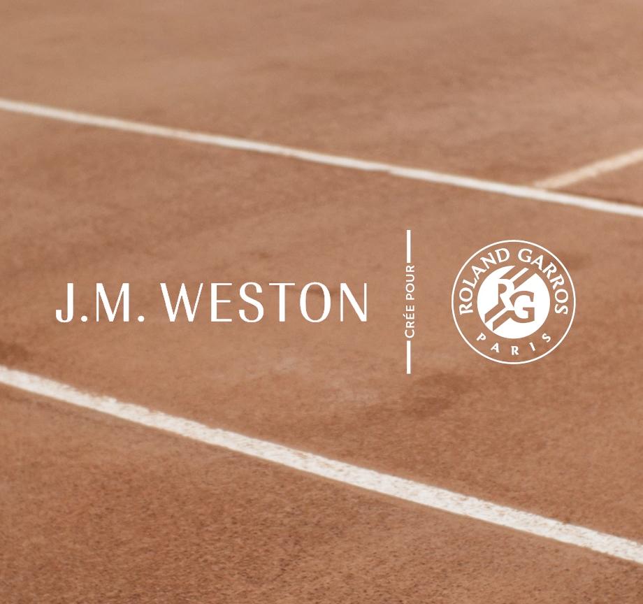 J.M. WESTON X ROLAND GARROS